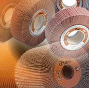 Immagine per la categoria Ruote lamellari in tela abrasiva con foro